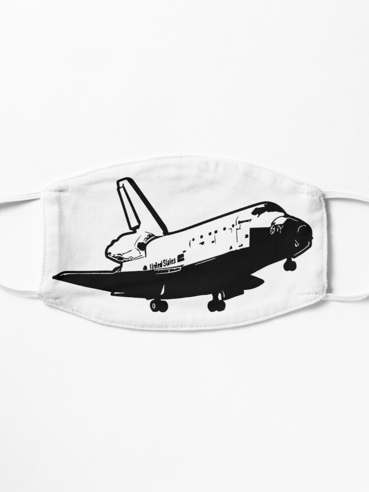 Alternate view of US Space Shuttle Landing Mask