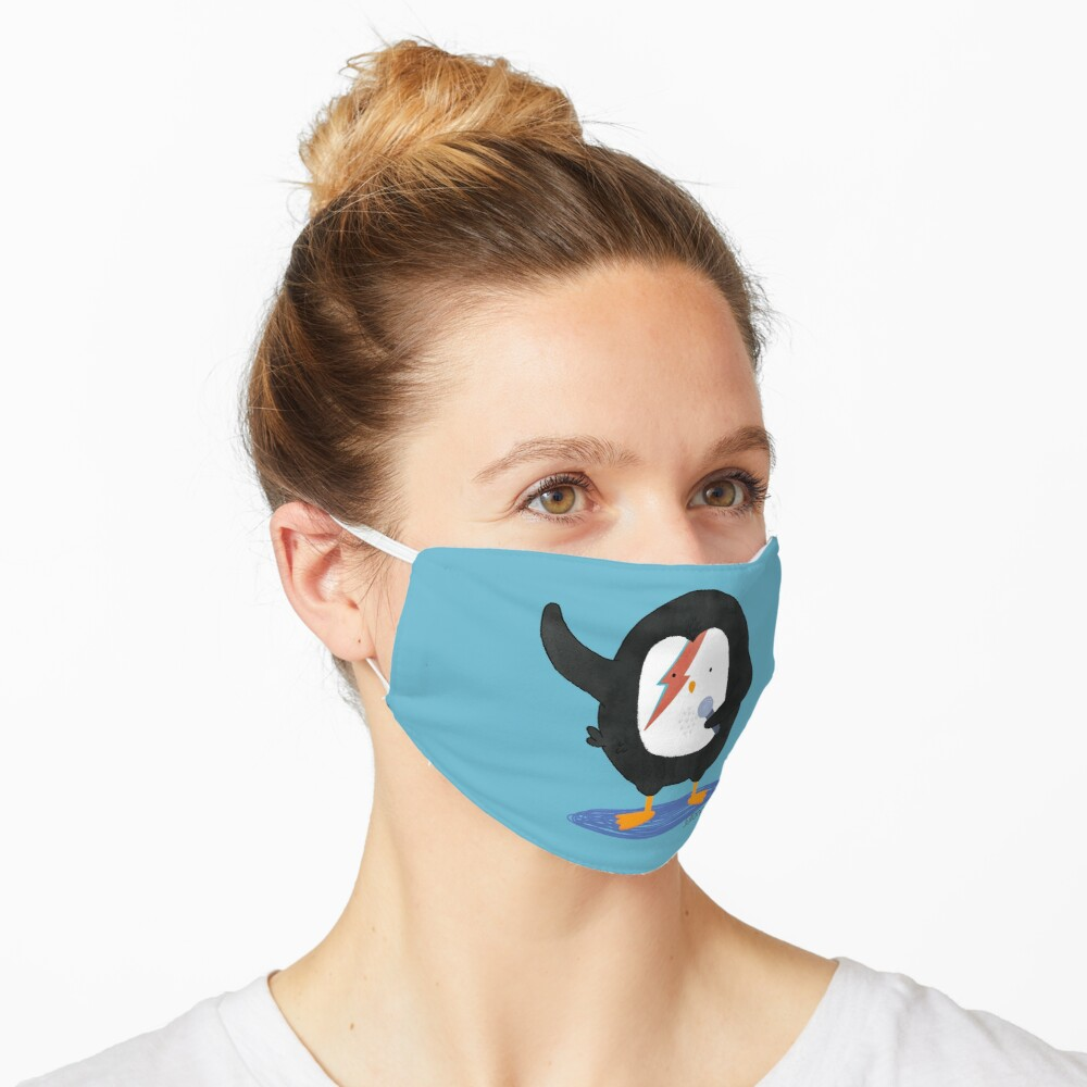 Penguin Ziggy Stardust Mask