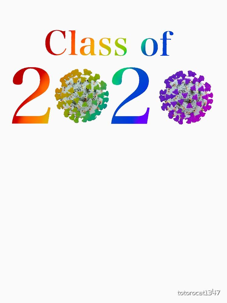 """Rainbow Class of 2020 Coronavirus Graduation Design"" T ..."