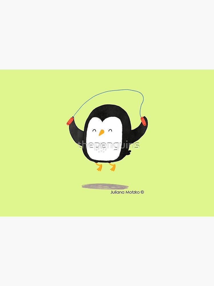 Penguin jumping rope by thepenguins