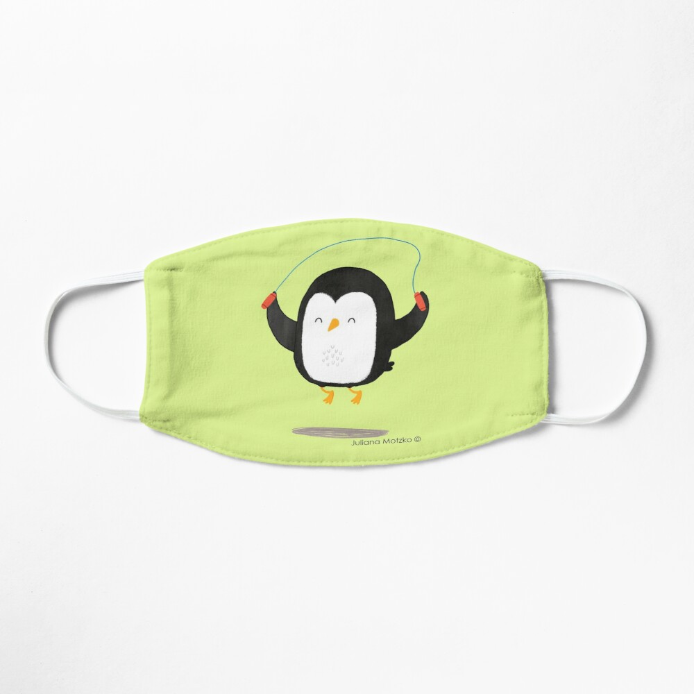 Penguin jumping rope Mask