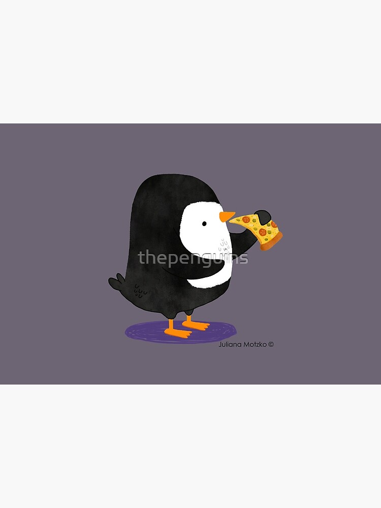 Steve Penguin loves Pizza! by thepenguins