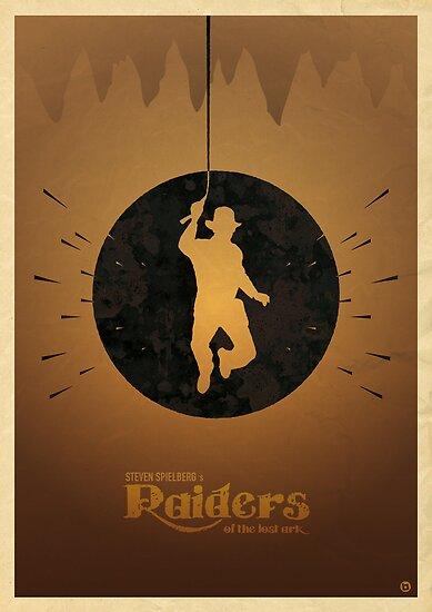 Steven Spielberg's RAIDERS OF THE LOST ARK by Alain Bossuyt