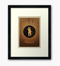 Steven Spielberg's RAIDERS OF THE LOST ARK Framed Print