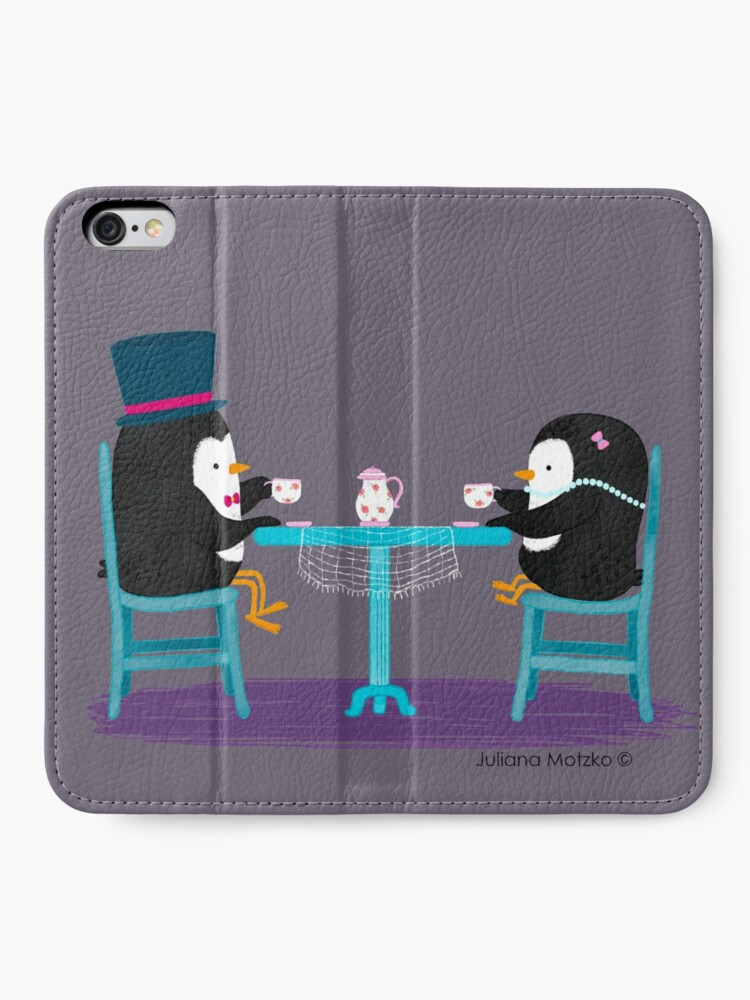 Alternate view of Time for Tea ! iPhone Wallet