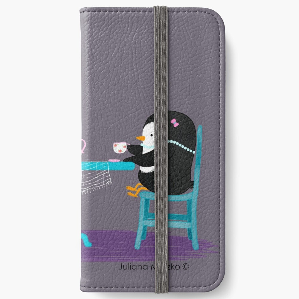 Time for Tea ! iPhone Wallet