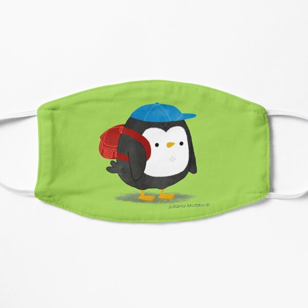 Jimmy Penguin goes to school Mask