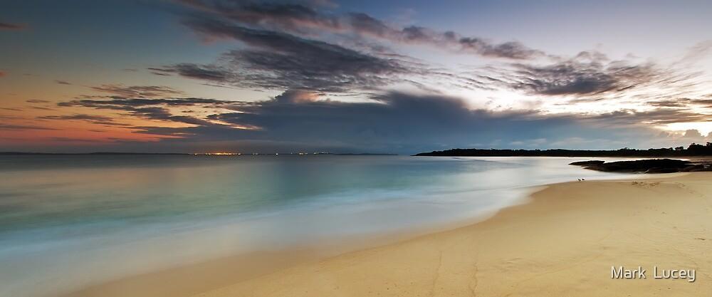 Jibbon Beach Panorama by Mark  Lucey