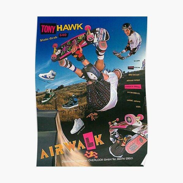 Affiche de skate vintage des années 90 Poster