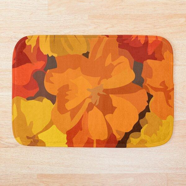Cosmos Flower Bath Mat