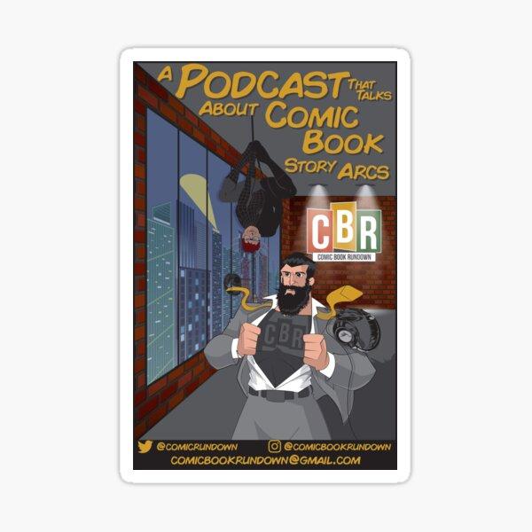 Comic Book  Rundown 2020 Design Sticker