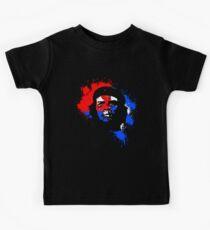 Che Guevara Paint Drops Kids Tee