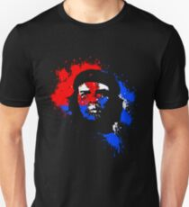 Che Guevara Paint Drops Unisex T-Shirt
