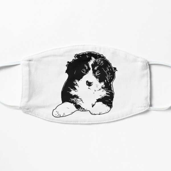 Bernese Puppy Vector Small Mask
