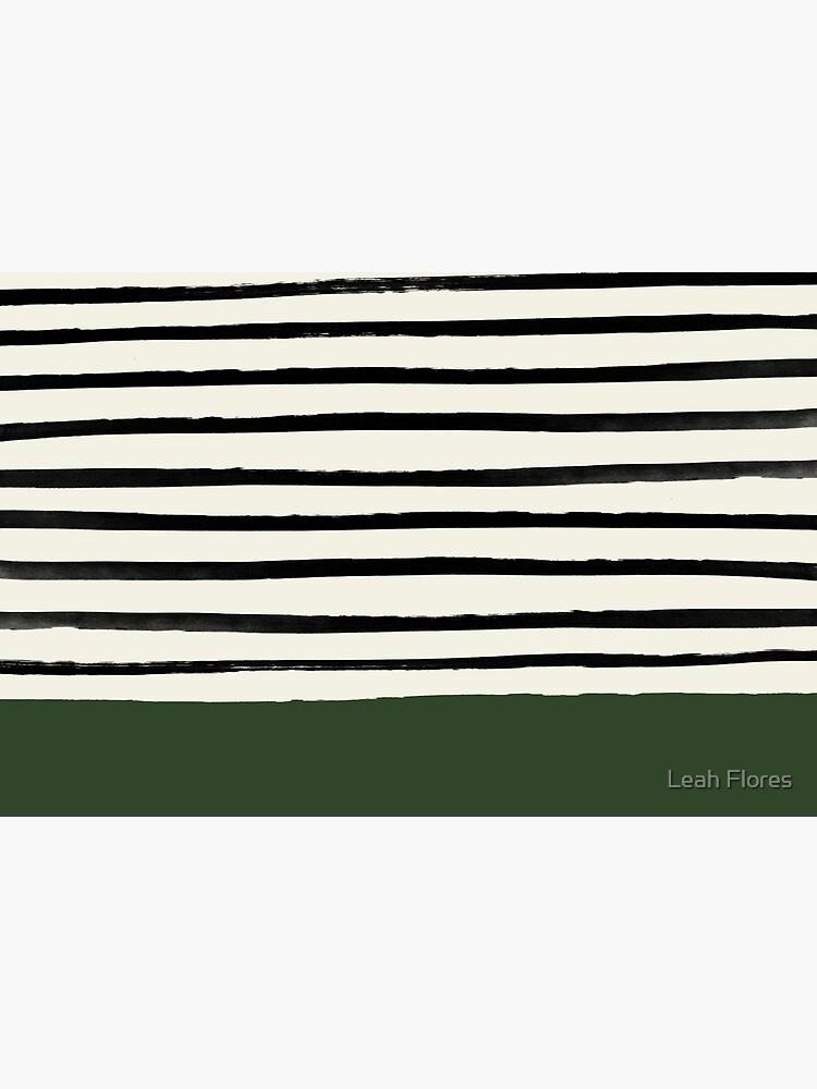 Forest Green x Stripes by adventurlings
