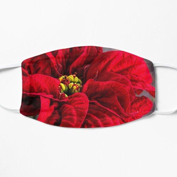 Poinsettia, Winter Rose Mask