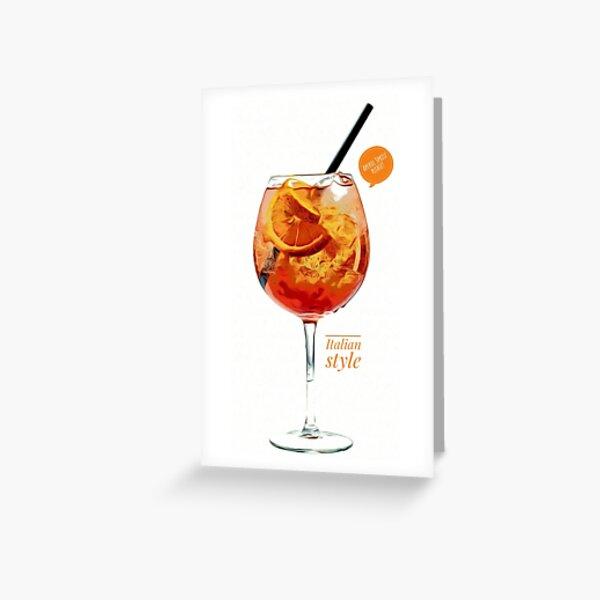 Aperol spritz Greeting Card