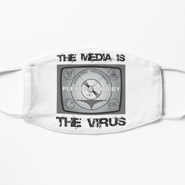 The Media Is The Virus Mask