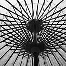 japanese parasol by Janine Paris