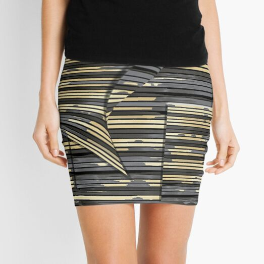 The Unnamed Wall Mini Skirt