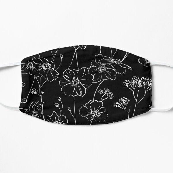Black wild roses Mask