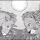 The Lion and the Unicorn by Anita Inverarity