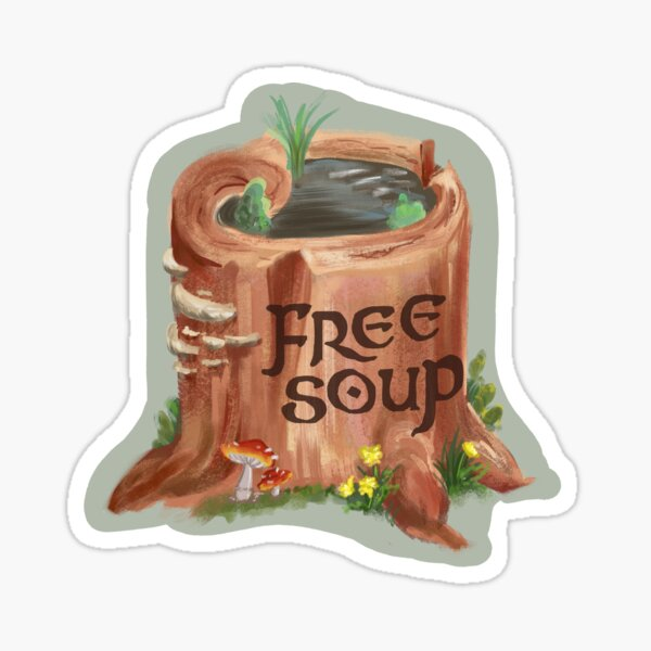 Forest Soup Sticker