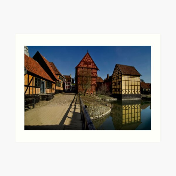 The old town  Art Print