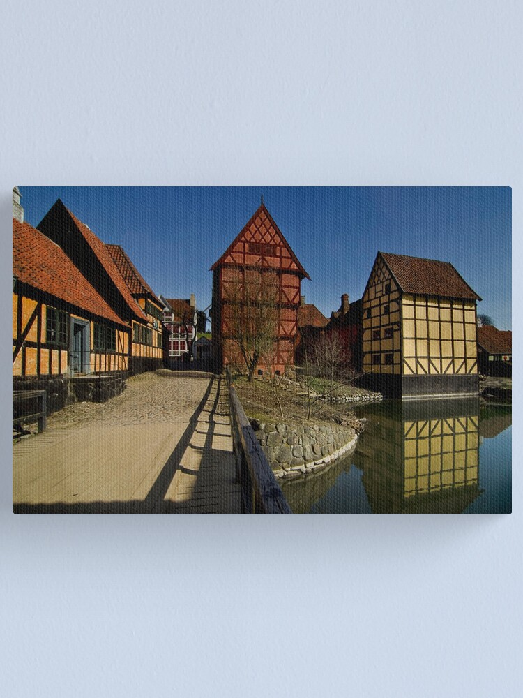 Alternate view of The old town  Canvas Print