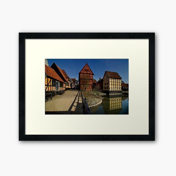 The old town  Framed Art Print