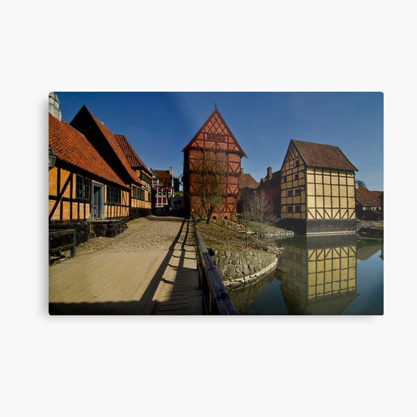 The old town  Metal Print