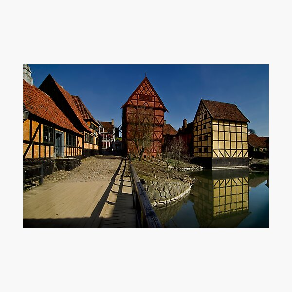 The old town  Photographic Print