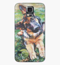 German Shepherd Fine Art Painting Case/Skin for Samsung Galaxy