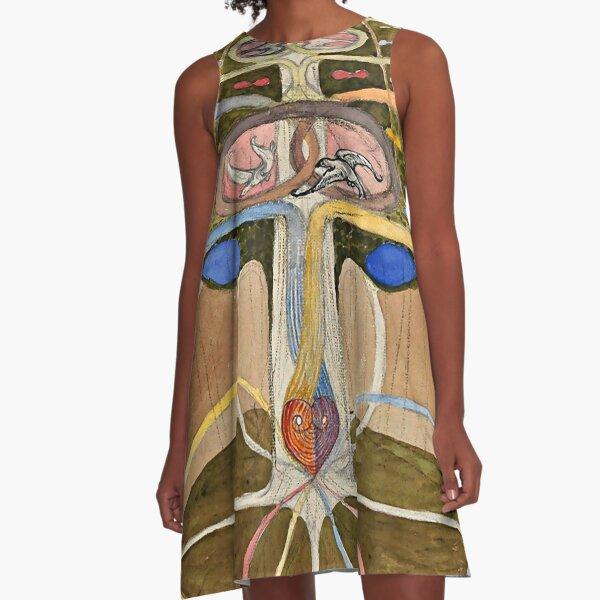"Hilma af Klint ""Tree of Knowledge No. 1 (1913)"" A-Line Dress"