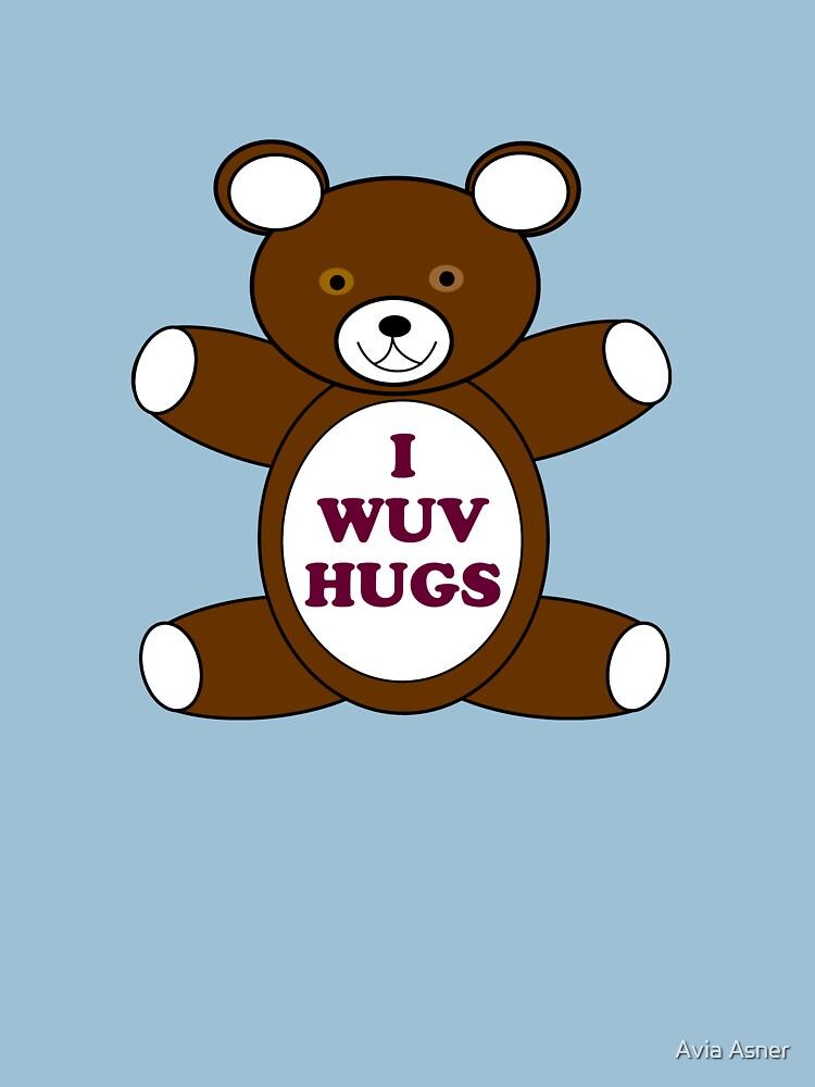 Supernatural 'I Wuv Hugs' | Unisex T-Shirt