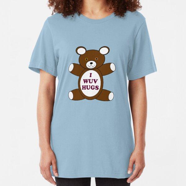 Supernatural 'I Wuv Hugs' Slim Fit T-Shirt