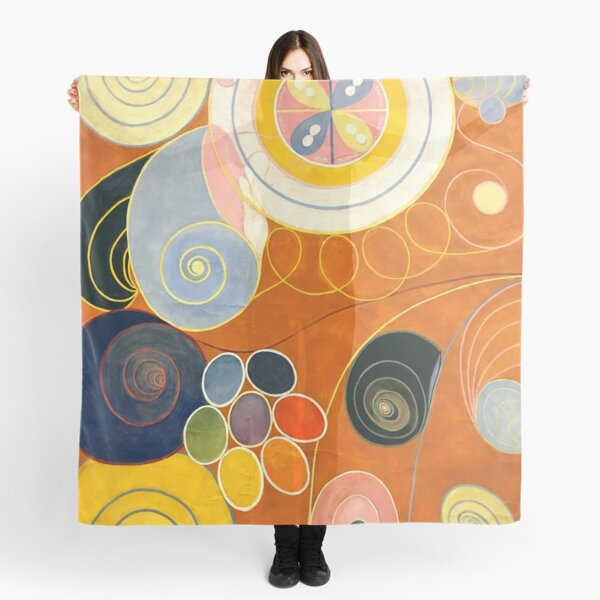 "Hilma af Klint ""The Ten Largest, No. 03, Youth, Group IV"" Scarf"