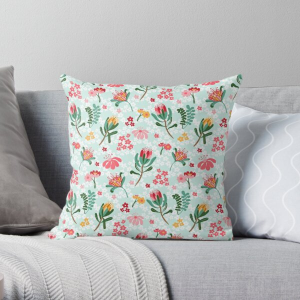 Australian Flora  Throw Pillow