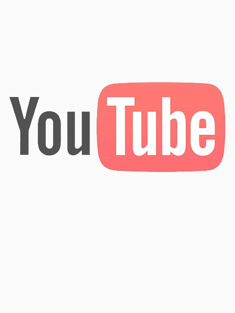 TShirtGifter presents: YouTube | Unisex T-Shirt