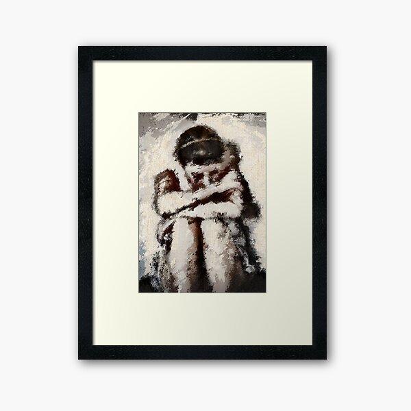 no more tears... Framed Art Print