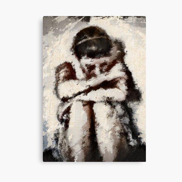no more tears... Canvas Print
