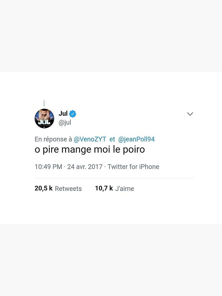 """o worse eat me the poiro"" Tweet Jul by Robin-"