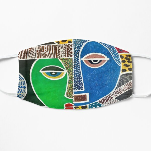 Colorful Ethnic Inspired Mask