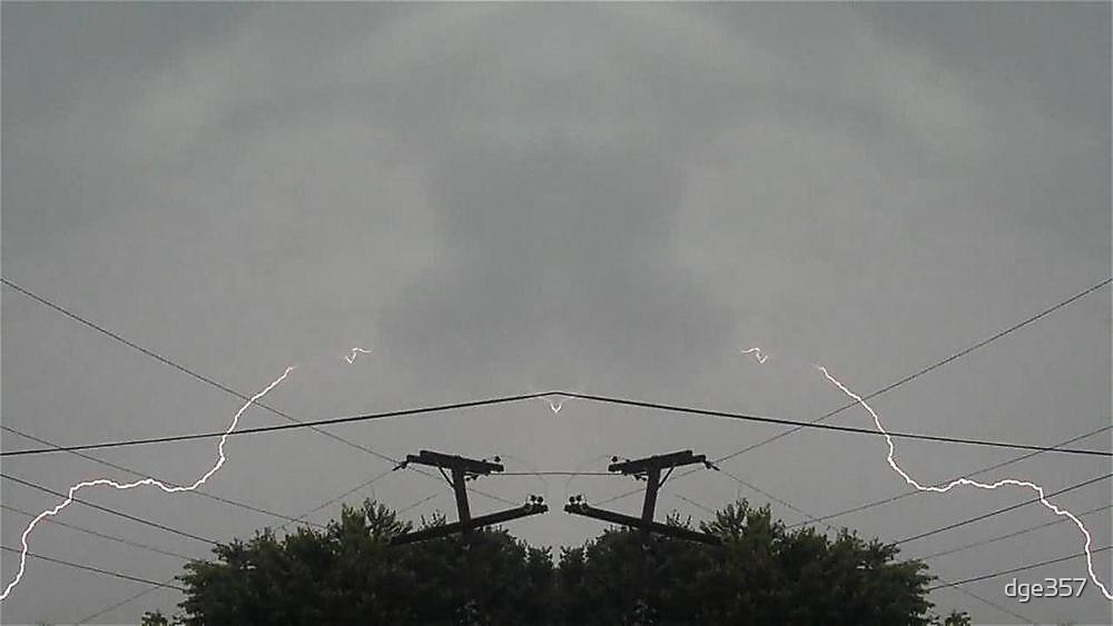 Lightning Art 001 by dge357