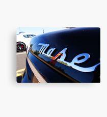 Maserati Badge Canvas Print
