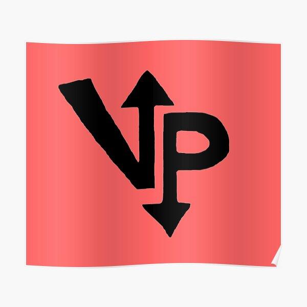 Vengeful Panini Logo Design (Red) Poster