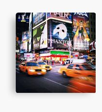 NYC: Taxi Taxi Canvas Print