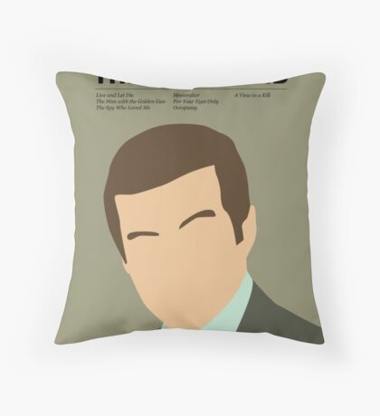 Officially the best bond - Moore! Throw Pillow