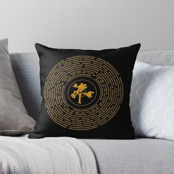 Joshua Tree Vinyl Throw Pillow