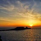Rhossili Bay Sunset by Radeon12345